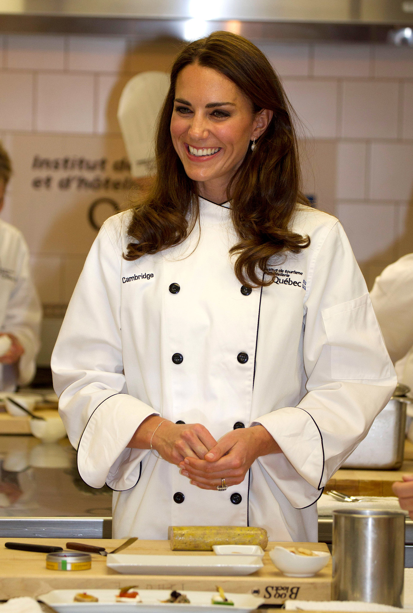 In July 2011, the duchess showed off her culinary skills during a coo
