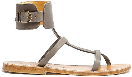 K Jacques Caravelle Ankle Cuff Sandals