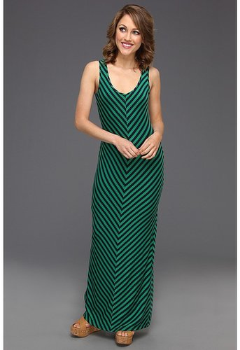 Gabriella Rocha - Kassidy Maxi Dress w/Back Cut Out (Green/Navy) - Apparel