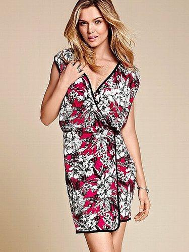 Print Kimono Dress