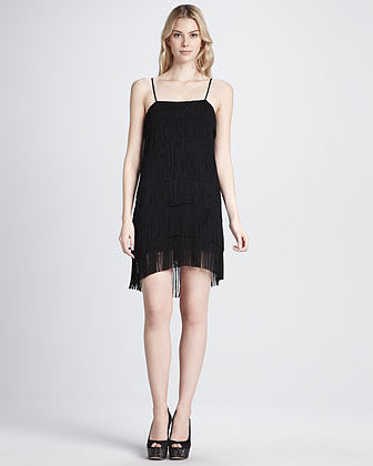 Haute Hippie Cascading Fringe Dress