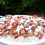 Grilled Shrimp with Tzatziki Sauce