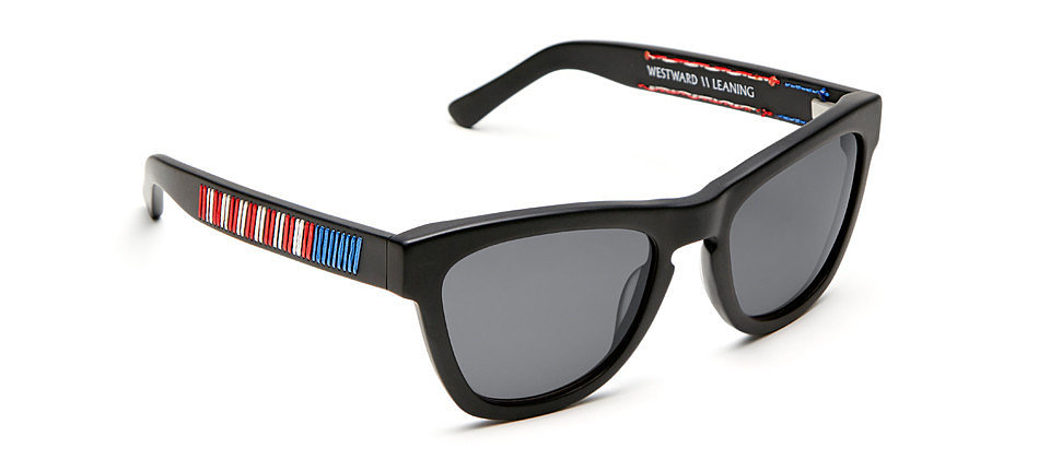 Westward Leaning's newest To Shining Sea shades ($275) couldn't be more perfect for the Fourth of July. They make it easy to channel your inner Americana without ever being cheesy. — HW