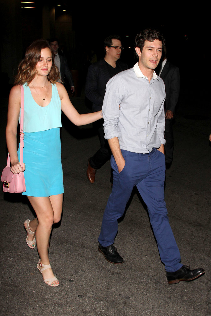 This is the stuff teen dreams are made of — cute new couple Leighton Meester and Adam Brody hit the Side Girl(s) premiere in LA together on June 27, marking their first official appearance as a couple.