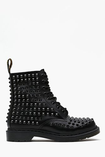 Spike 8 Eye Boot - Black
