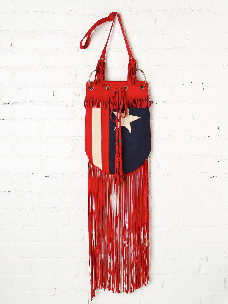 There's a touch of the American West in this fringed crossbody bag ($398) from Spell & The Gypsy Collective.