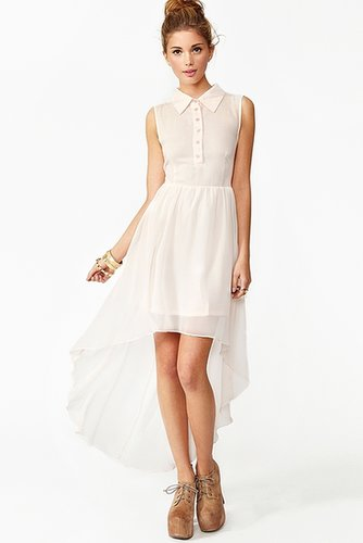 Candy Chiffon Shirtdress