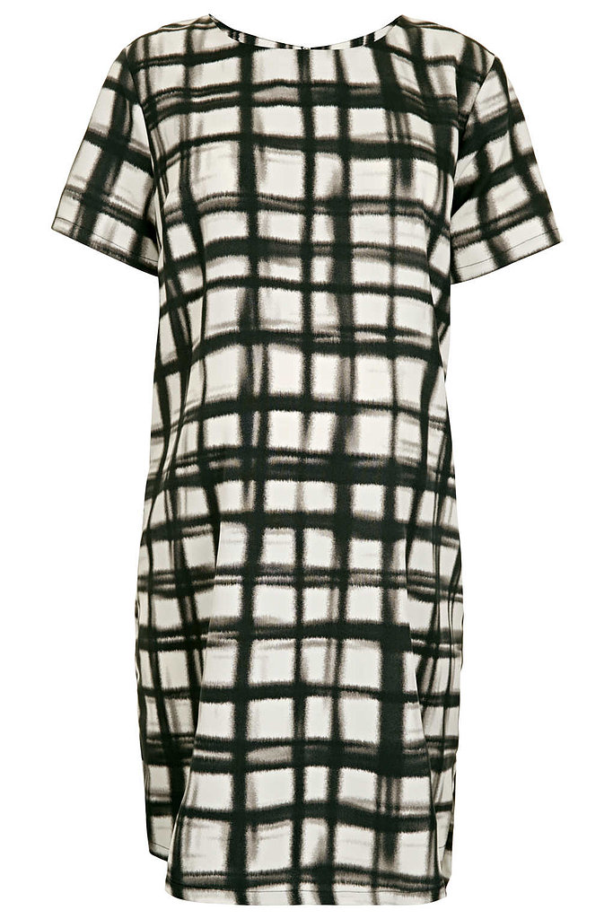 The loose fit of Topshop's Maternity Grid Tunic Dress ($76) is both fashion-forward and figure-flattering — especially as your midsection undergoes its drastic transformation. Glam it up with platform heels, or take it easy with a comfy pair of embellished sandals. Added bonus — the tunic style works great all year round; just swap out bare legs for tights or leggings.
