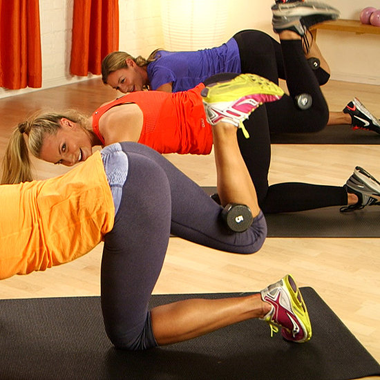 10-Minute Tush-Toning Pilates Workout