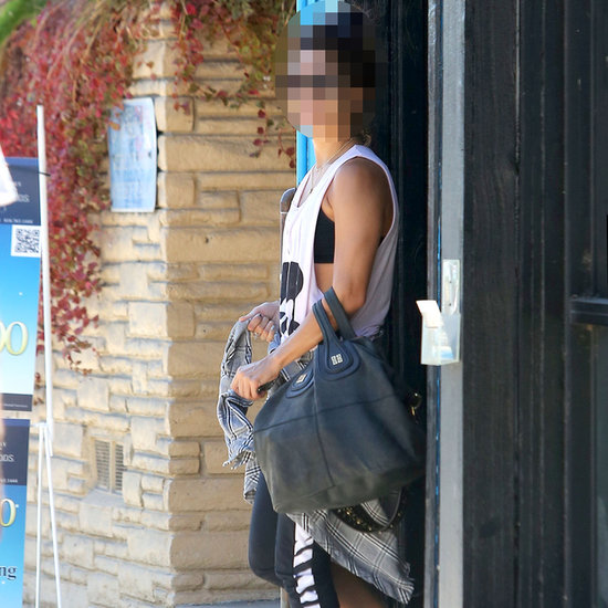 Young Actress Leaving Pilates in Los Angeles
