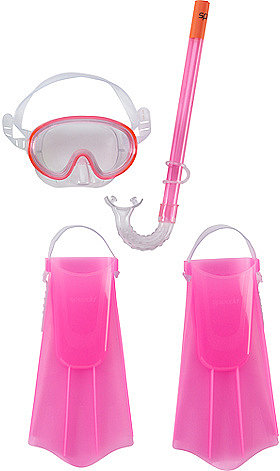 Speedo® Swim Mask, Snorkel and Fin Set