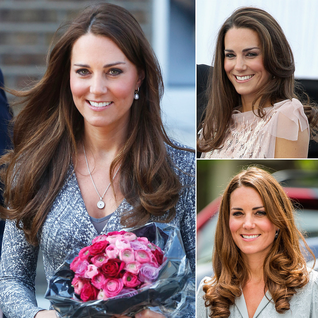 Who: Kate Middleton The look: An enviable blowout Kate's silky blowout is a testament to that old adage: if it ain't broke, don't fix it. The iconic monarch may not take many risks when it comes to her coiffure, but that perfect texture and impossible shine make her a source of hair inspiration for women around the world.