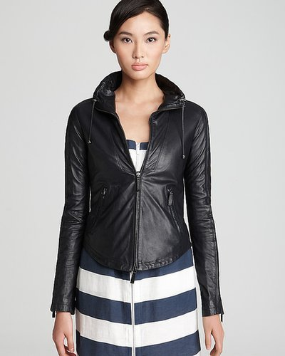 Armani Collezioni Jacket - Leather Bomber