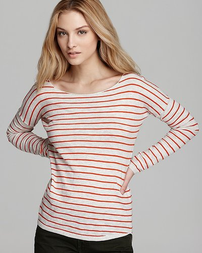 Vince Sweater - Striped Linen