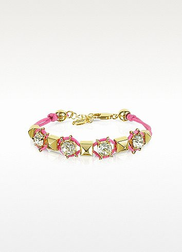 Juicy Couture Pyramid Stud Friendship Bracelet