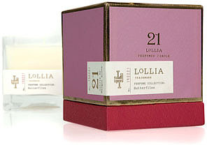 Lollia Butterflies Candle