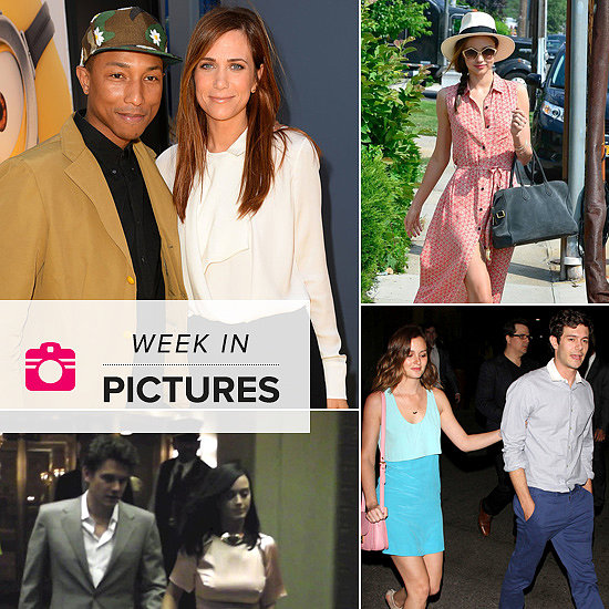 The Week in Pictures: Kristen & Pharrell, Miranda, New (and Old!) Couples & More