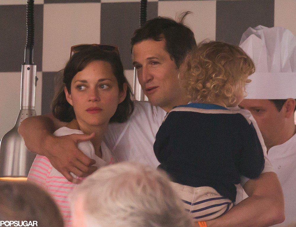 Marion Cotillard and Guillaume Canet Cuddle Marcel in Monaco