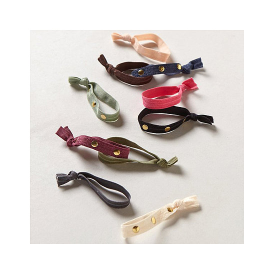 Almost everyone can use a good hair elastic during the warm-weather months. It's just a bonus when they happen to be as functional and fashionable as these Studded Hair Ties from Anthropologie ($16 for an assortment of 10 shades). — JR