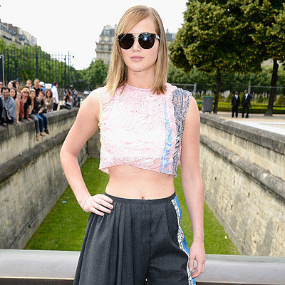 Celebrities at Paris Haute Couture Fashion Week 2013
