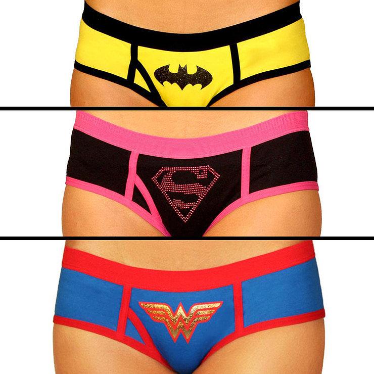 Superhero Boy Shorts