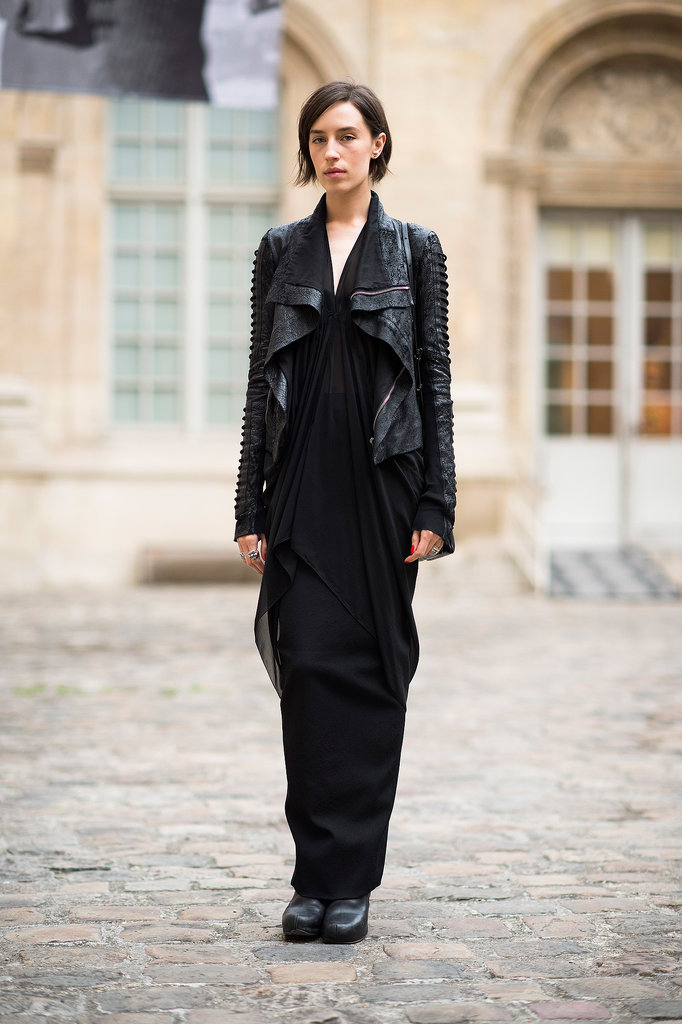 More proof that all black looks perpetually chic.