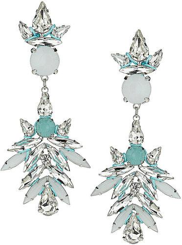 Premium Rhinestone Thread Earrings