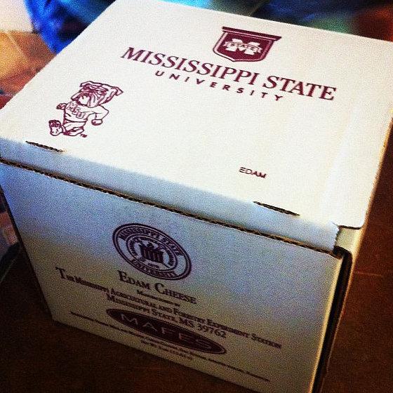Mississippi: Mississippi State Edam Cheese