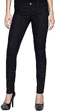 Star Print Skinny Jeans