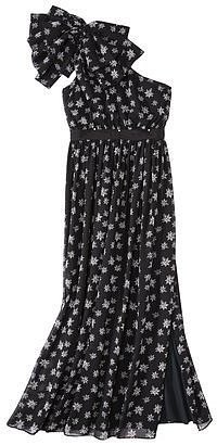 Kate Young For Target® One Shoulder Evening Dress -Star Print
