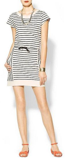 Hive & Honey Becky Striped French Terry Mini