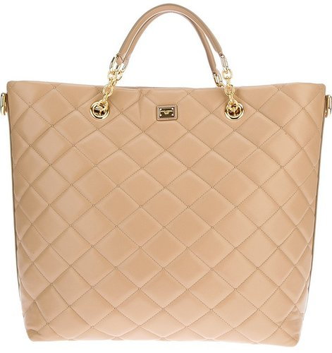 Dolce & Gabbana quilted tote bag
