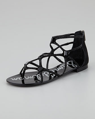 Sam Edelman Tamara Sequined Strappy Sandal