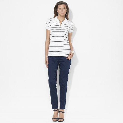 Ralph Lauren Striped Cotton Polo