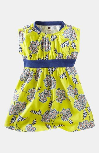 Tea Collection 'Chrysanthemum' Banded Dress (Toddler Girls, Little Girls & Big Girls)
