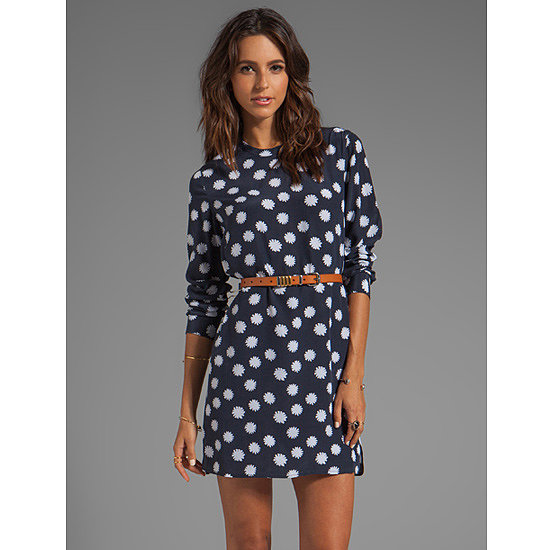 I haven't bought a dress for a long time but there's something cute and timeless about this silk one from Equipment. The colours and print are Winter-appropriate (and will also work for warmer months, too!), and it will be nice to have a long-sleeved frock in a luxe fabric. — Jess, celebrity and entertainment editor Dress, $298, Equipment at Revolve Clothing