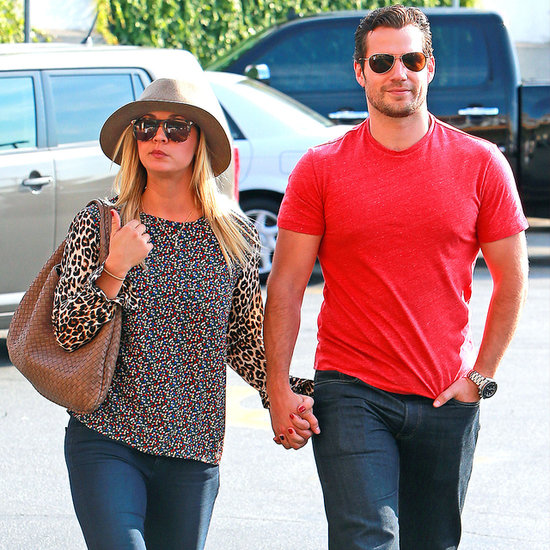 Henry Cavill and Kaley Cuoco Holding Hands | Pictures