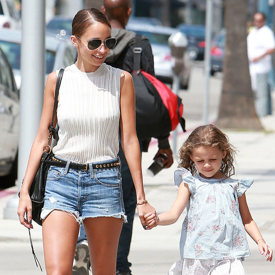 Nicole Richie and Harlow Madden in Beverly Hills | Photos