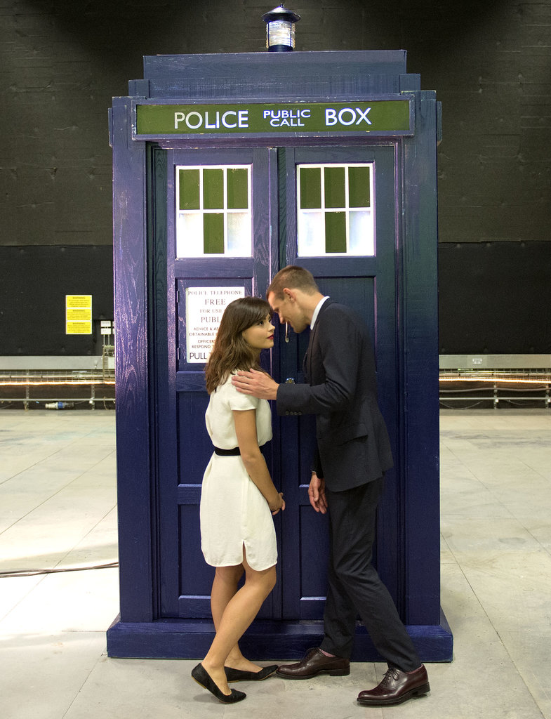 Jenna and Matt shared top-secret 50th anniversary Doctor Who spoilers — er, we