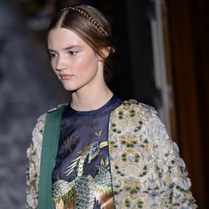 Beauty Looks at Valentino at Paris Couture Fashion Week