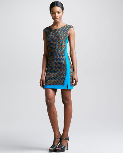Missoni Macrame Dress, Turquoise/Multi