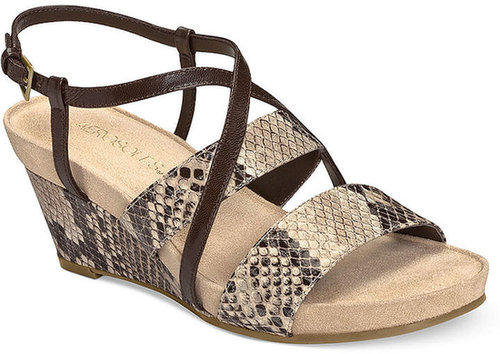 Aerosoles Shoes, Light Year Wedge Sandals