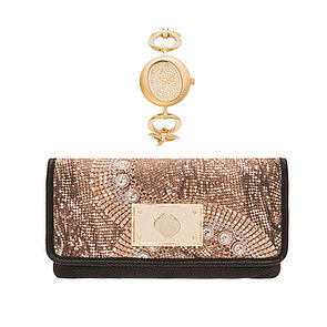 Oroton 75th Anniversary Collection Clutch, Watch & Handbag