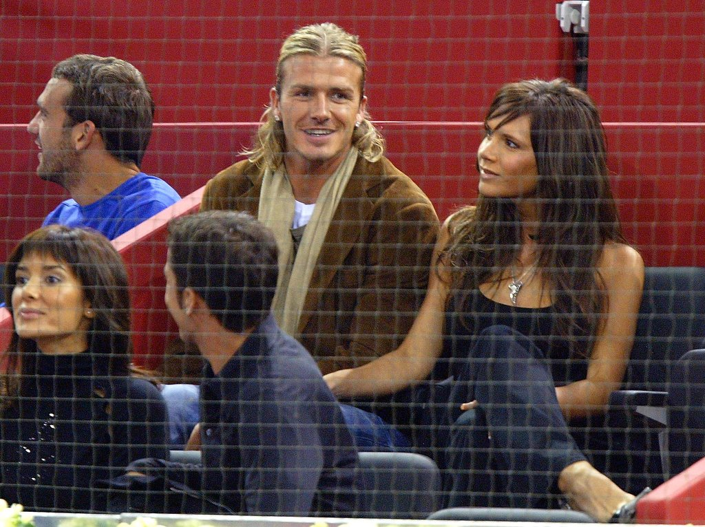 The couple watched the ATP Madrid Masters in Oct. 2003.