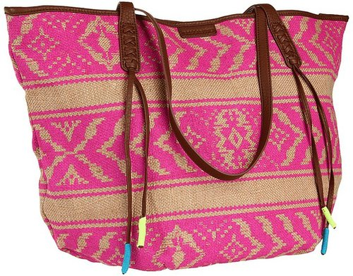 Billabong - More Please Tote Bag (Fiesta Fuchsia) - Bags and Luggage