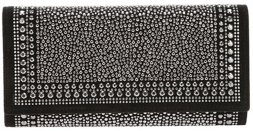 Valentino Garavani micro-studded fold-over purse
