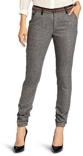 D.E.P.T. Women's Multicolour Tweed Stretch Trouser