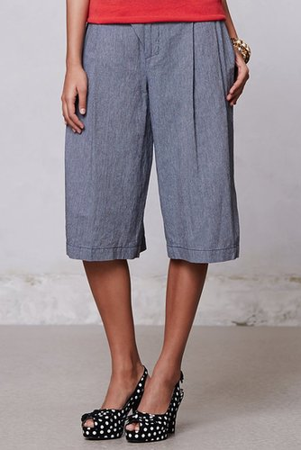 Tenaya Cropped Wide-Legs