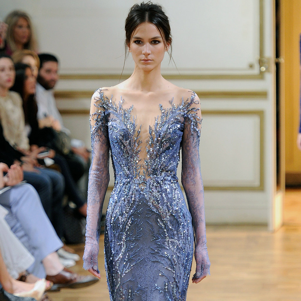 Zuhair murad at paris haute couture fashion week fall for Hout couture