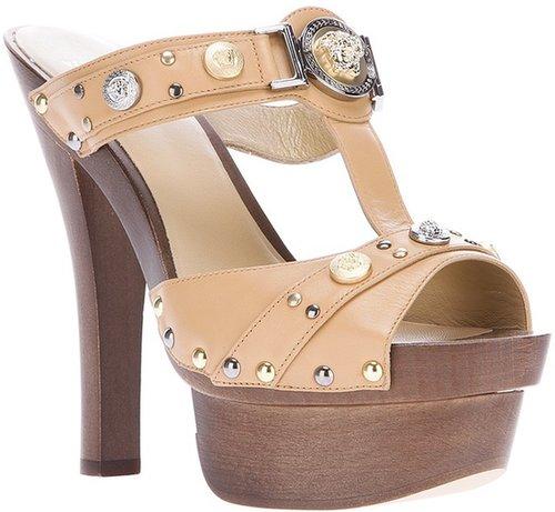 Versace platform sandal